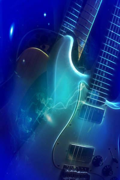Play Them Blues Art Print
