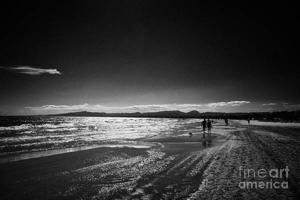 Levante Wall Art - Photograph - Playa De Levante Salou Catalonia Spain by Joe Fox