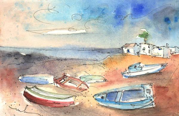Painting - Playa Honda In Lanzarote 02 by Miki De Goodaboom