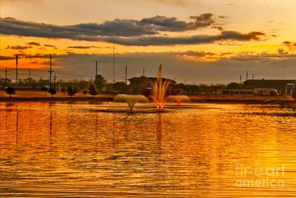 Photograph - Playa Lake At Sunset by Mae Wertz