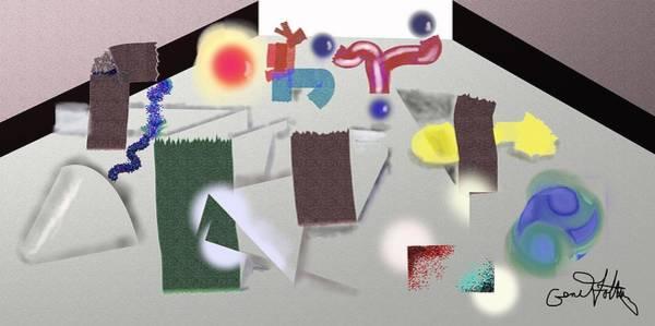 Painting - Playground  by Eugene Foltuz