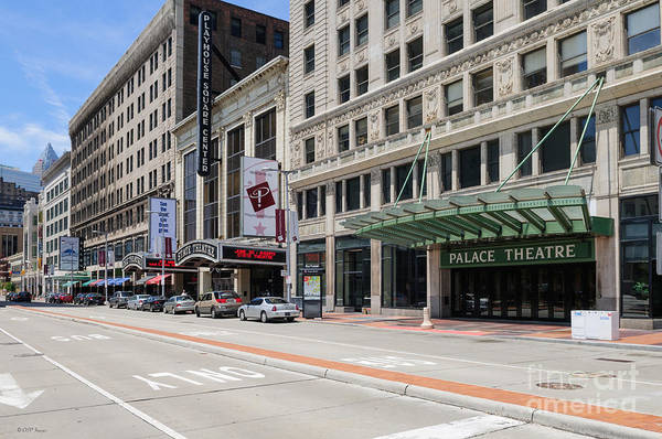 Photograph - D24u-209 Playhouse Square Photo by Ohio Stock Photography