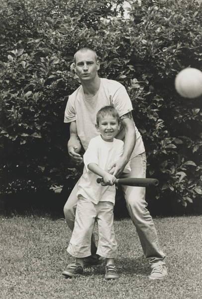 Softball Photograph - Playing Softball by Mauro Fermariello/science Photo Library