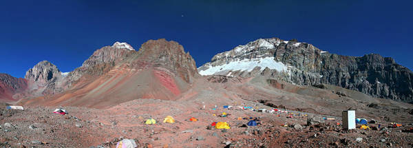 Mendoza Province Photograph - Plaza Argentina Base Camp, Aconcagua by Johnathan Ampersand Esper