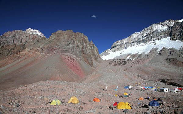 Mendoza Province Photograph - Plaza Argentina, Base Camp by Johnathan Ampersand Esper