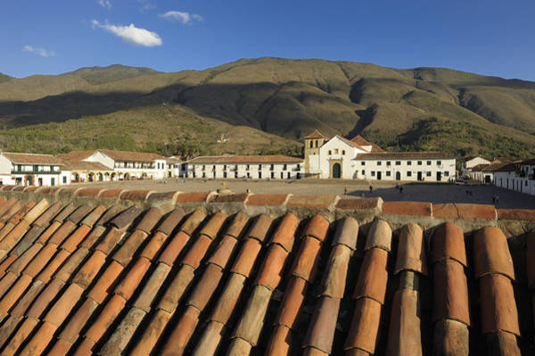 Boyaca Photograph - Plaza by Christian Heeb