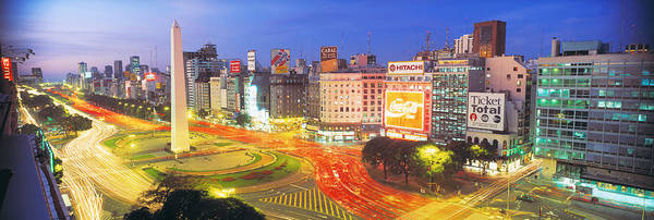 Buenos Aires Photograph - Plaza De La Republica, Buenos Aires by Panoramic Images