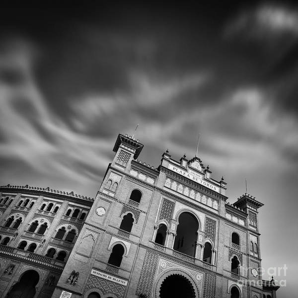 Plaza Photograph - Plaza De Toros - Madrid by Rod McLean