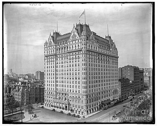 Photograph - Plaza Hotel by Russell Brown