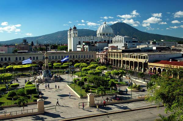El Salvador Photograph - Plaza Libertad, San Salvador, El by John Coletti