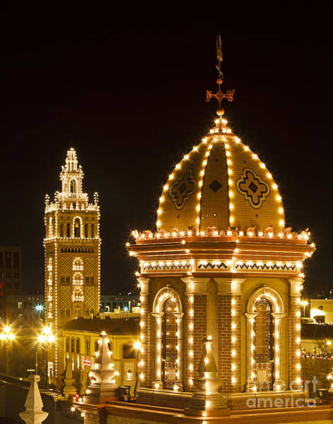 Country Club Plaza Photograph - Plaza Lights by Dennis Hedberg