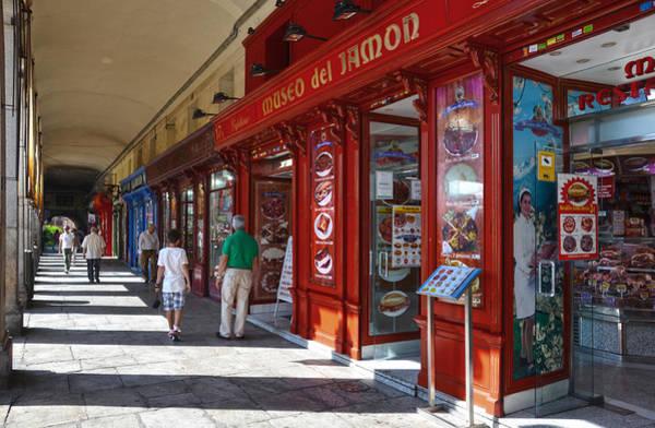 Photograph - Plaza Mayor Restaurants And Shops by RicardMN Photography