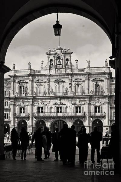 Wall Art - Photograph - Plaza Mayor Salamanca by Rudi Prott