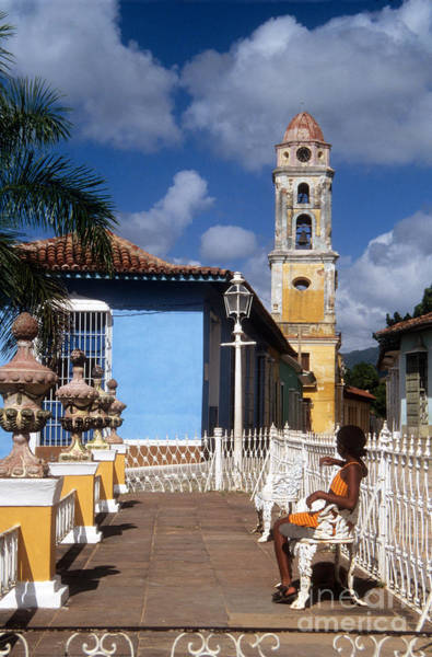 Photograph - Plaza Mayor Trinidad by James Brunker