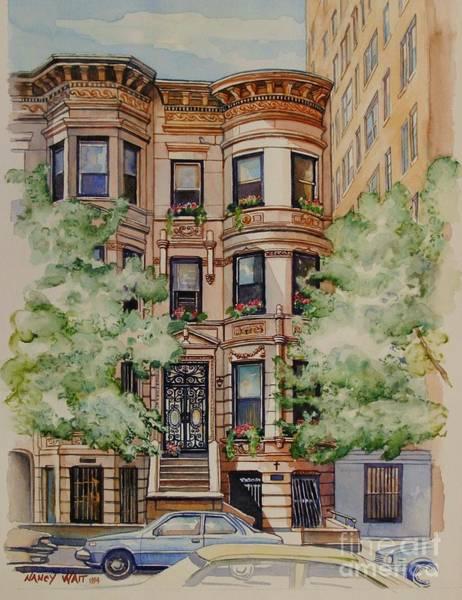 Plaza Street West 1994 Art Print