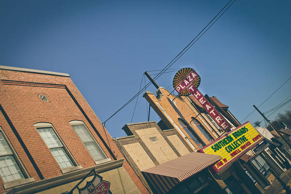 Wall Art - Photograph - Plaza Theatre by Amber Flowers