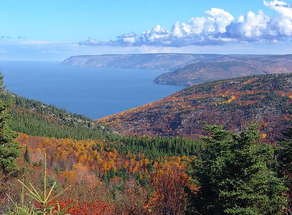 Fall Scenery Mixed Media - Pleasant Bay by Janet Ashworth