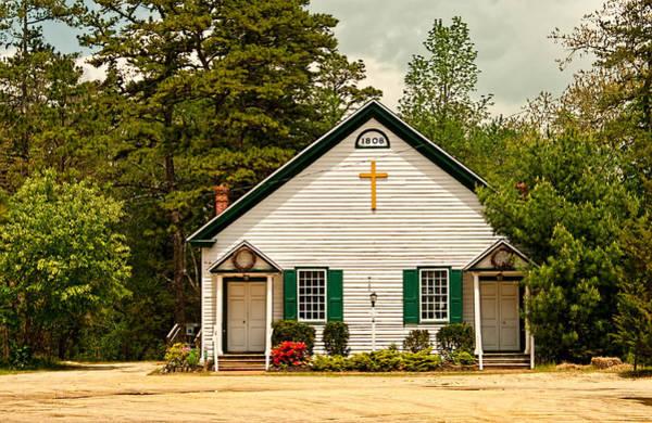 Photograph - Pleasant Mills Church by Kristia Adams