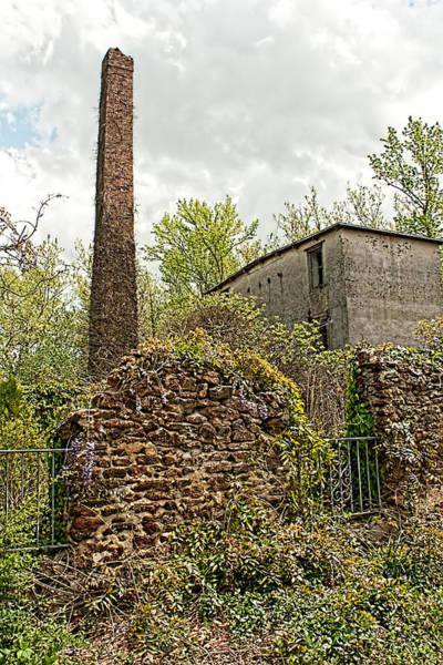 Photograph - Pleasant Mills Paper Mill by Kristia Adams