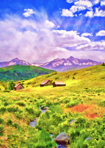 Digital Art - Pleasant Valley by Rick Wicker