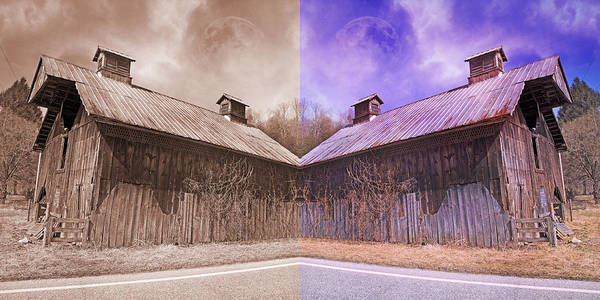 Tin Roof Wall Art - Photograph - Pleasant View Country Barns by Betsy Knapp