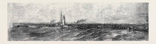 Pleasure Drawing - Pleasure Trip To The Tolboukin Lighthouse by English School