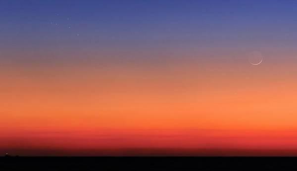 Mars Photograph - Pleiades by Luis Argerich
