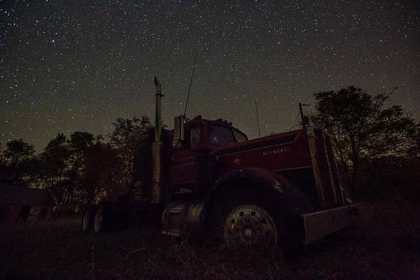 Kenworth Photograph - Pleiades Reflection by Aaron J Groen