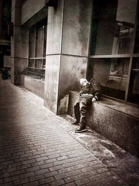 Photograph - Plight by Chris Montcalmo
