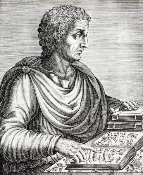 Elder Photograph - Pliny The Elder Roman Naturalist Ad77 by Paul D Stewart/science Photo Library