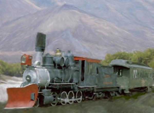 Painting - Plow Train by Dennis Buckman