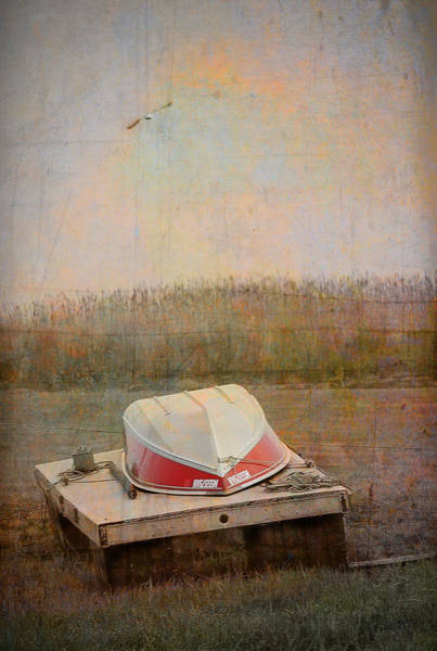 Photograph - Plum Island Boat by Rick Mosher