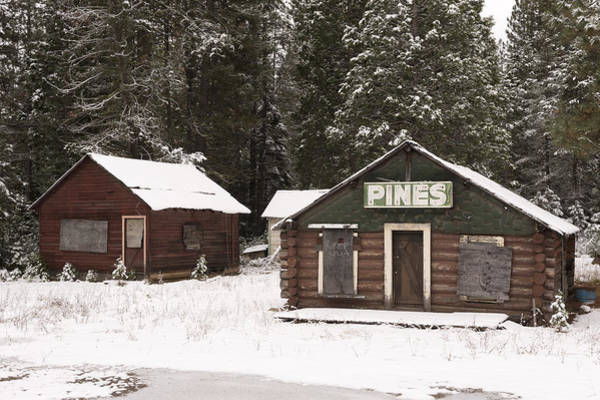 Plumas County Photograph - Plumas County Gas Station by Carol M Highsmith