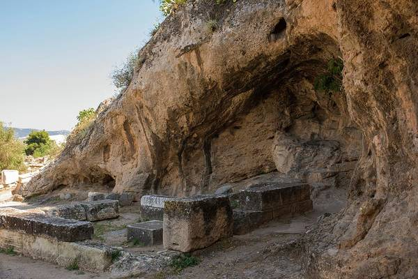 Peloponnese Photograph - Plutonion At Eleusis by David Parker/science Photo Library
