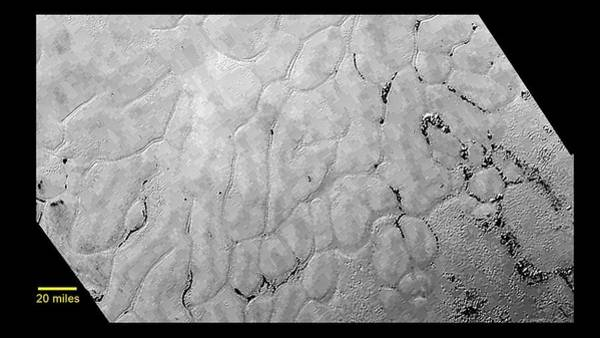 2010s Wall Art - Photograph - Pluto's Surface by Nasa//johns Hopkins University Applied Physics Laboratory/southwest Research Institutescience Photo Library