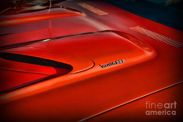 383 Photograph - Plymouth Barracuda 383 by Paul Ward