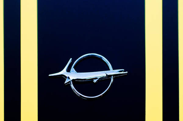 Photograph - Plymouth Barracuda Emblem -0054c by Jill Reger