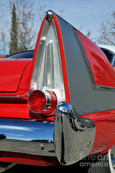 Wing Back Photograph - 1957 Plymouth Fury by George Atsametakis