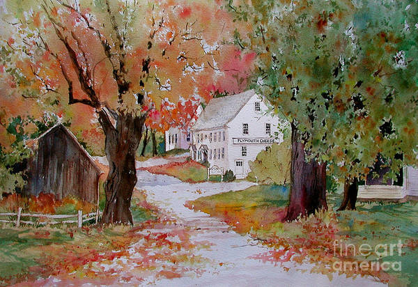 Coolidge Painting - Plymouth Notch Cheese Factory by Sherri Crabtree