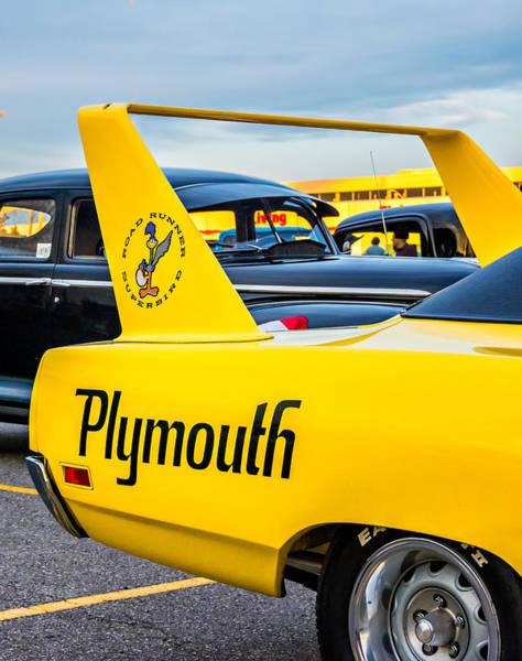 Plymouth Superbird Photograph - Plymouth Road Runner Superbird by Steve Harrington
