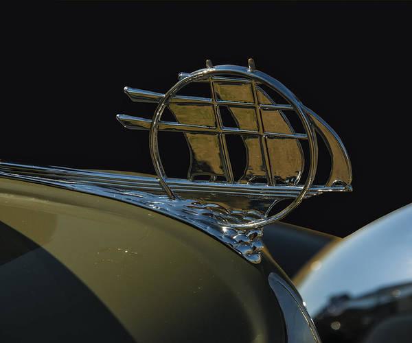 Digital Art - Plymouth Schooner Hood Ornament by Chris Flees