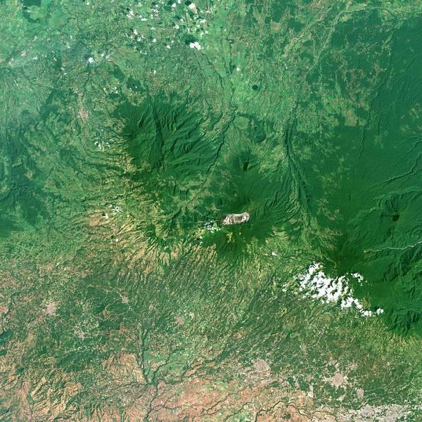 Active Volcano Photograph - Poas Volcano by Planetobserver/science Photo Library