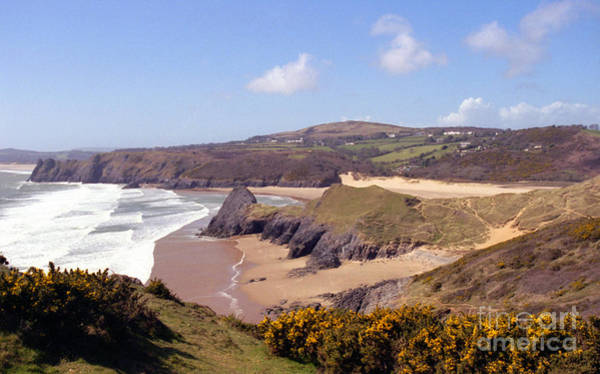 Photograph - Pobble Beach And Three Cliffs Bay by Paul Cowan