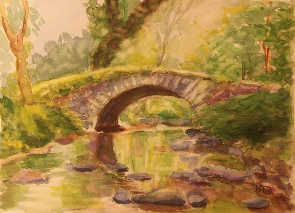Painting - Pocantico River Ny by Nicolas Bouteneff