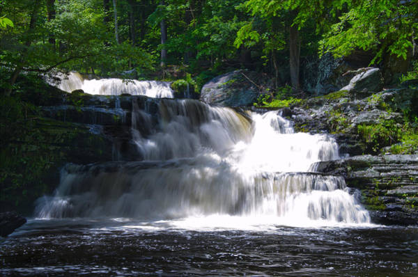 Poconos Wall Art - Photograph - Pocono Mountain Waterfalls by Bill Cannon