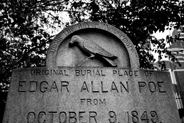 Photograph - Poe's Original Burial Place by Jennifer Ancker
