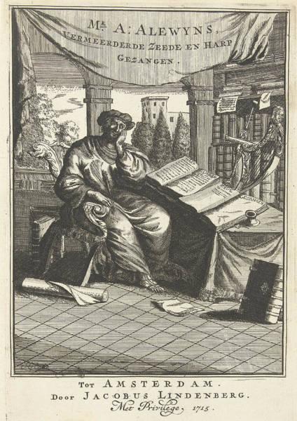 1715 Drawing - Poet At Work, Herman Coets, Jan Luyken, Caspar Luyken by Artokoloro
