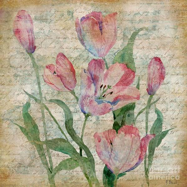 Wall Art - Painting - Poetic Garden II by Paul Brent