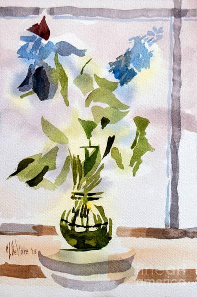 Painting - Poetry In The Window by Kip DeVore