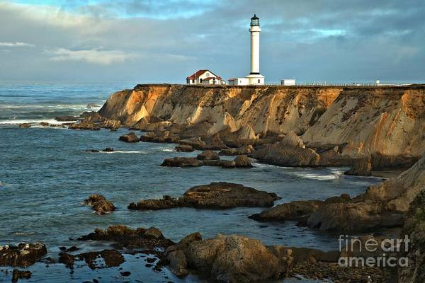 Photograph - Point Arena Lighthouse by Adam Jewell